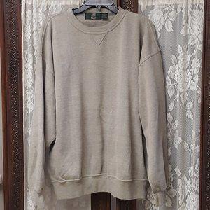 ORVIS Dress Shirt Sweatshirt Sweater LG